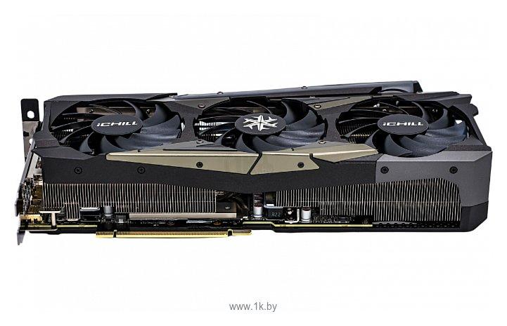 Фотографии INNO3D iCHILL GeForce RTX 3090 24576MB X4 (C30904-246XX-1880VA36)