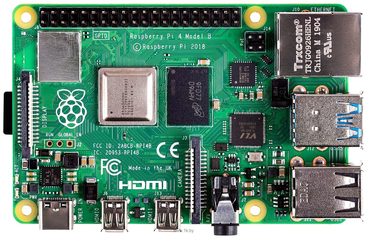 Фотографии Raspberry Pi 4 4GB