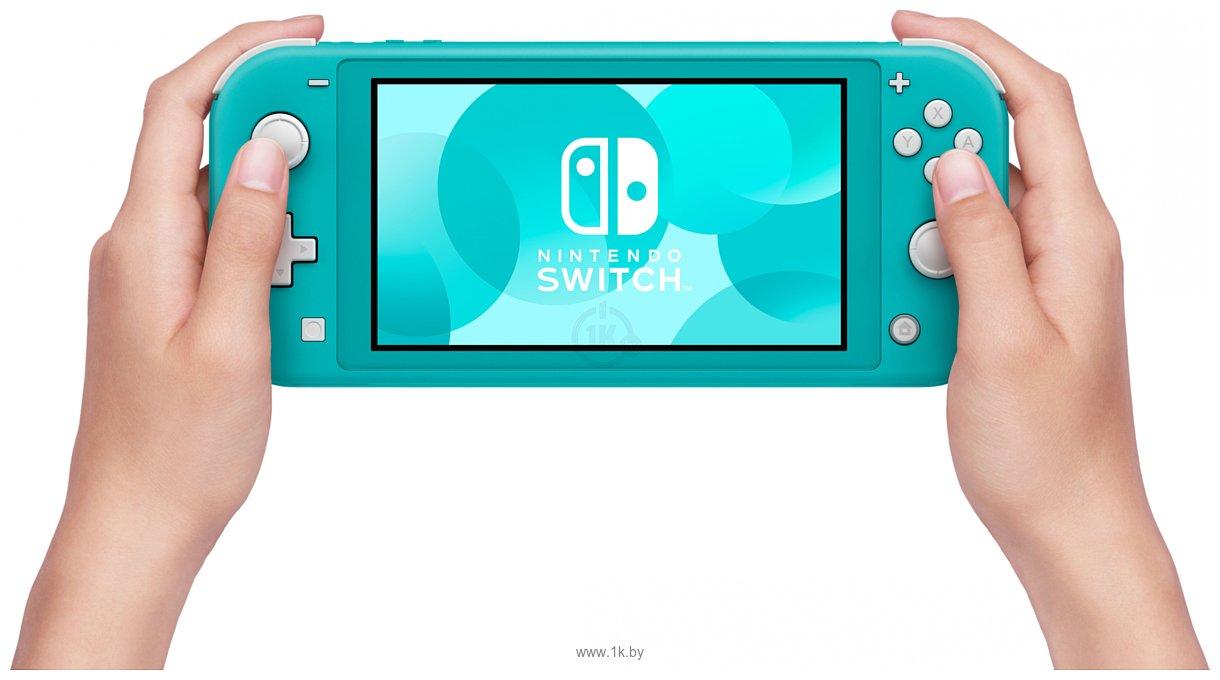Фотографии Nintendo Switch Lite (бирюзовый)