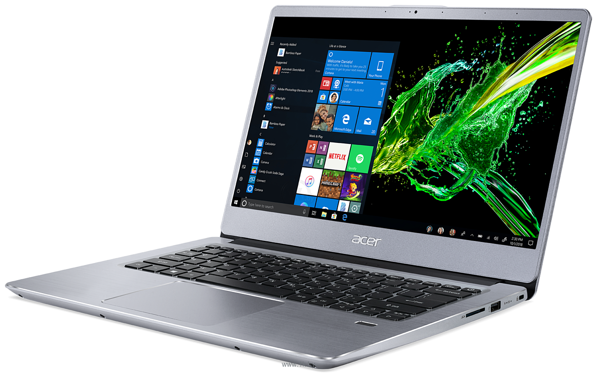 Фотографии Acer Swift 3 SF314-41-R0LM (NX.HFDEU.005)
