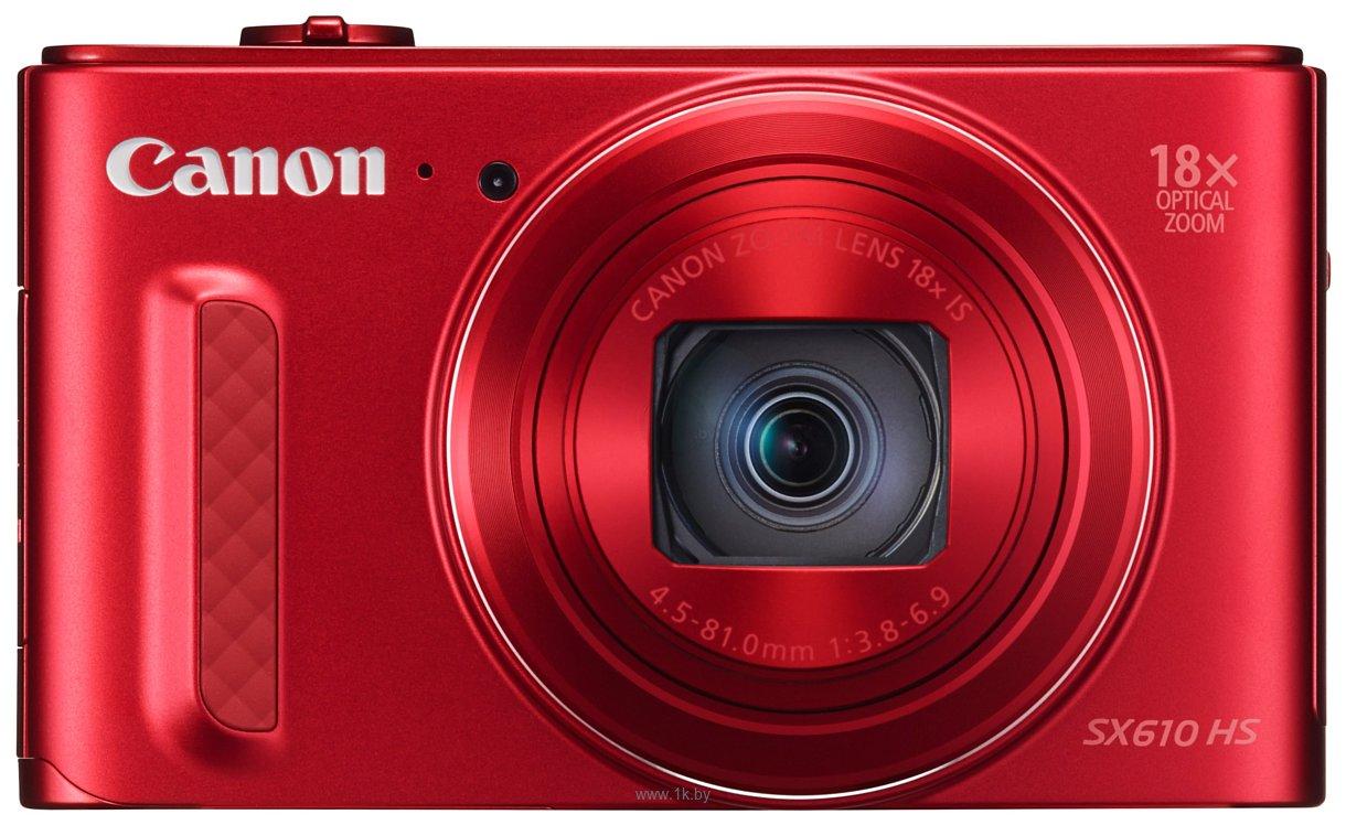 Фотографии Canon PowerShot SX610 HS