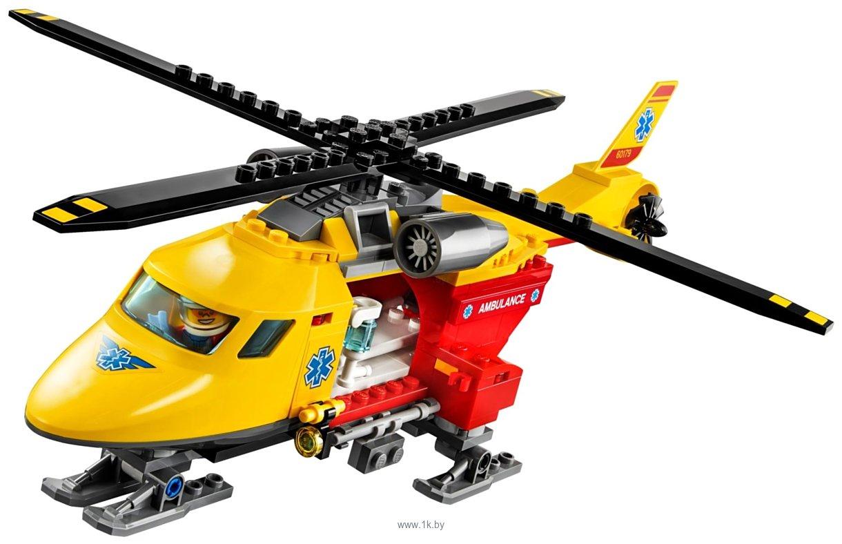 Фотографии LEGO City 60179 Вертолет скорой помощи