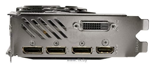 Фотографии GIGABYTE GeForce GTX 1060 1594Mhz PCI-E 3.0 6144Mb 8008Mhz 192 bit DVI HDMI HDCP Rock