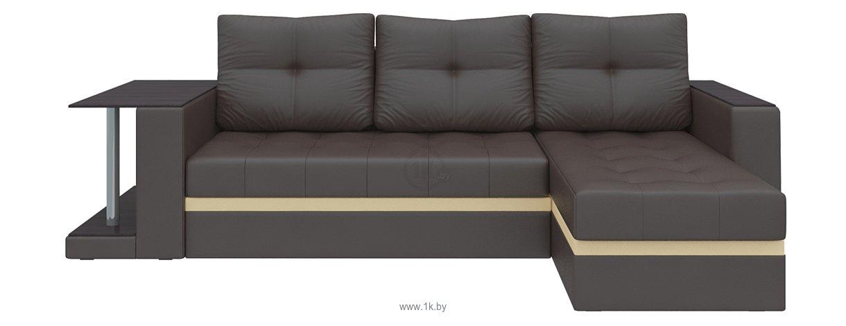 Фотографии Mebelico Атланта М (коричневый) (58789)