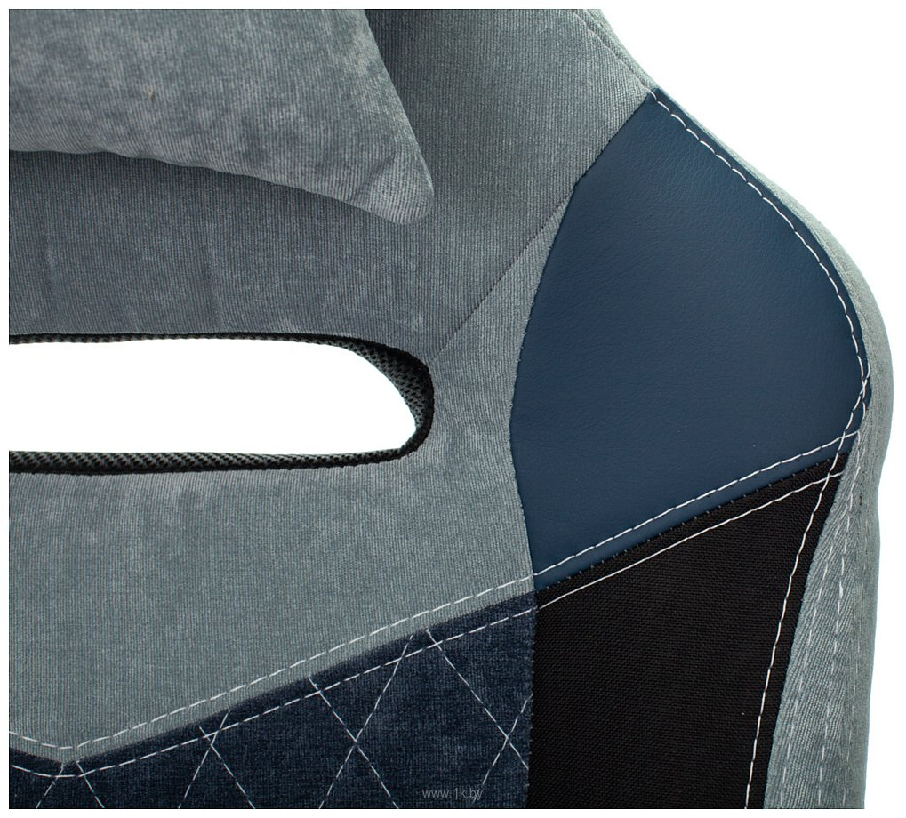 Фотографии Бюрократ Viking 6 Knight BL Fabric (синий)