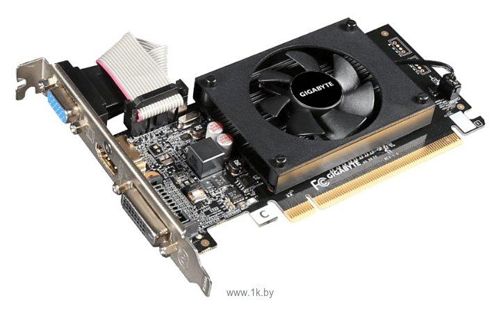 Фотографии GIGABYTE GeForce GT 710 2048Mb GDDR3 (GV-N710D3-2GL)