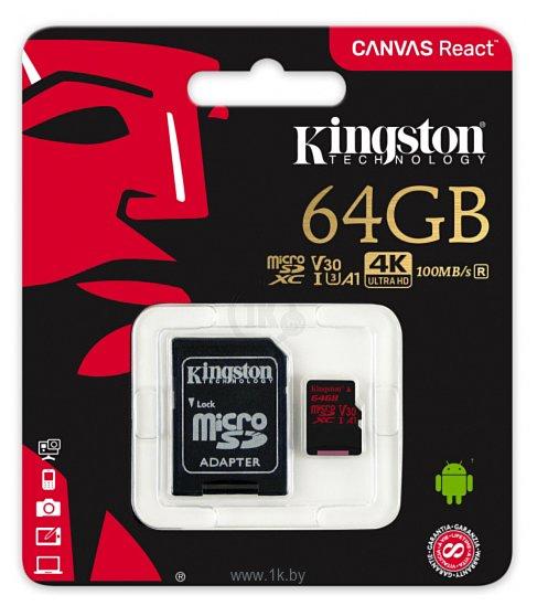 Фотографии Kingston SDCR/64GB