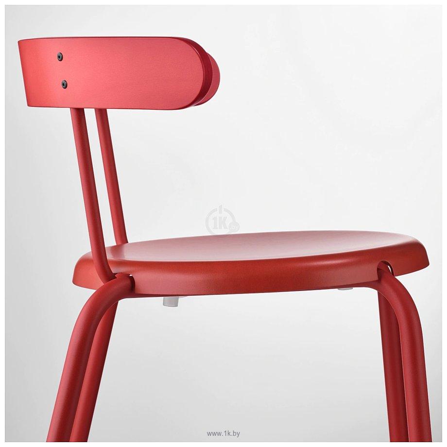 Фотографии Ikea Ингвар (красный) 304.176.34