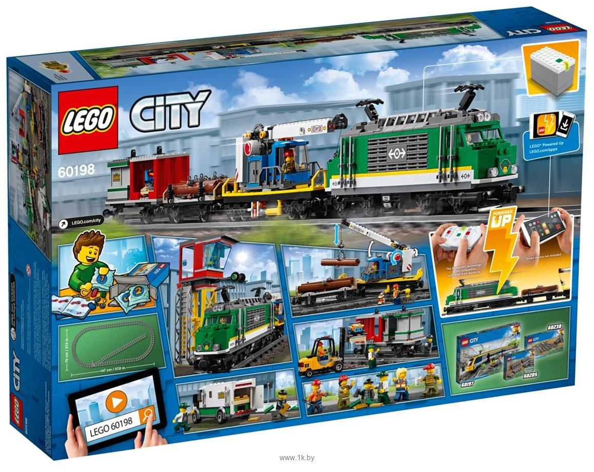 Фотографии LEGO City 60198 Грузовой поезд