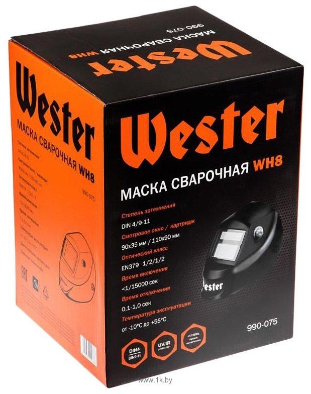 Фотографии Wester WH8 990-075 (черный)