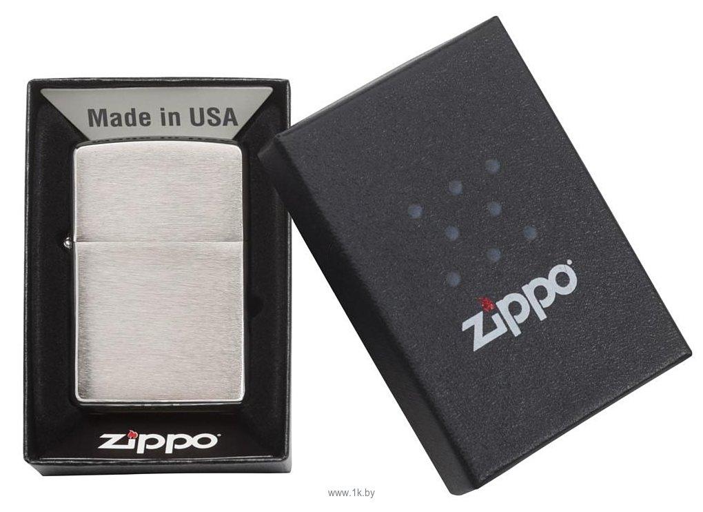 Фотографии Zippo Armor Brushed Chrome (162-000003)