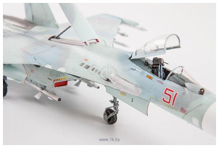 Фотографии Звезда Российский многоцелевой истребитель Су-27СМ