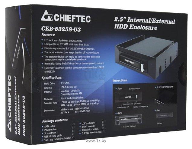 Фотографии Chieftec CEB-5325S-U3