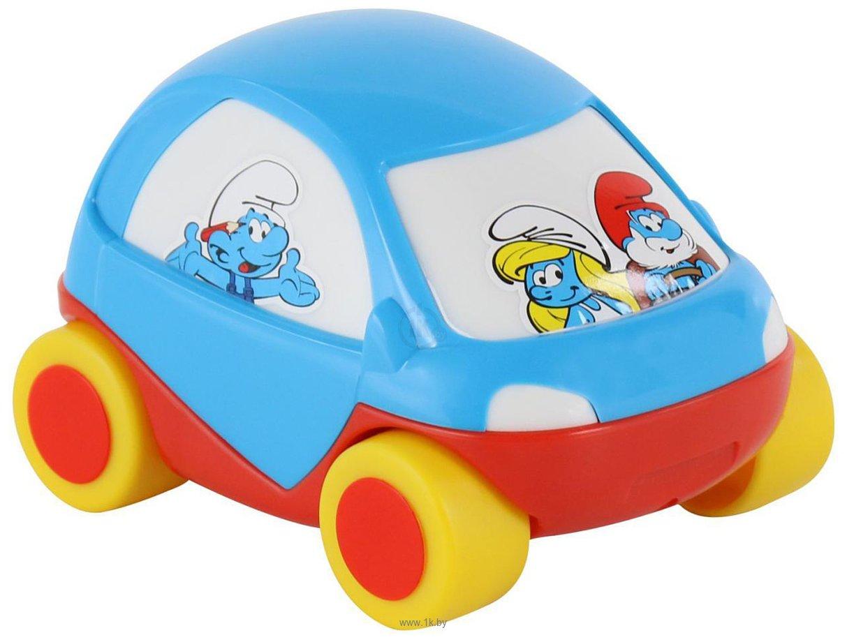 Фотографии Полесье Забавная детская машинка Смурфики №2 64516