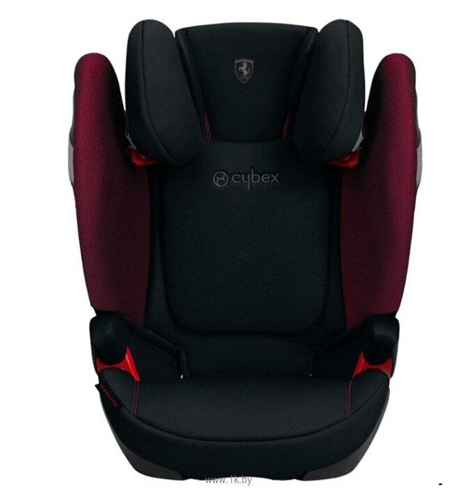 Фотографии Cybex Solution S-Fix (for Scuderia Ferrari)