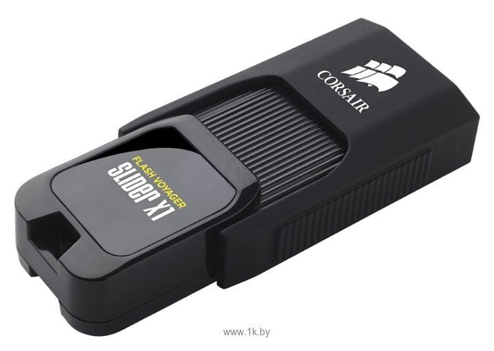 Фотографии Corsair Flash Voyager Slider X1 32GB