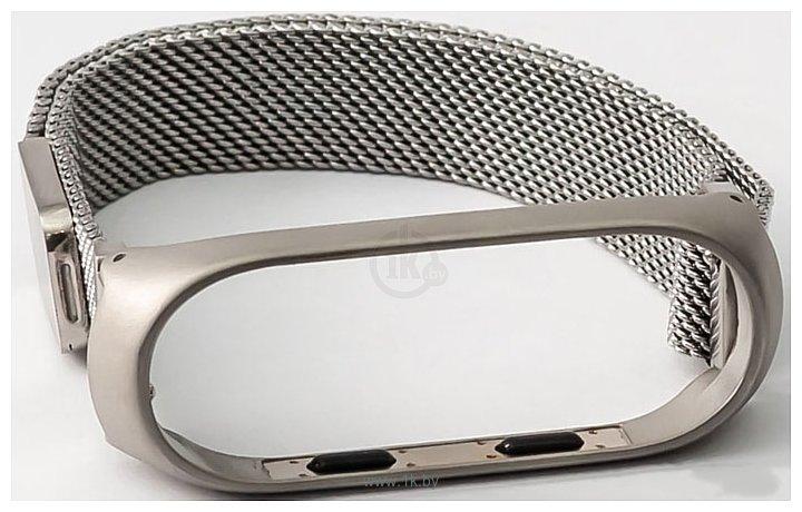 Фотографии Xiaomi Milanese Magnetic для Mi Band 3 (серебристый)