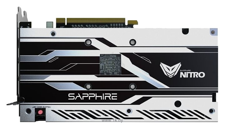 Фотографии Sapphire Nitro+ Radeon RX 480 1208Mhz PCI-E 3.0 8192Mb 8000Mhz 256 bit DVI 2xHDMI HDCP (11260-01)