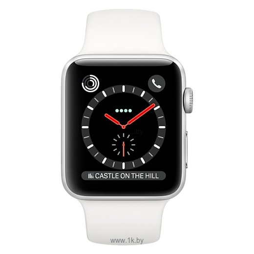 Фотографии Apple Watch Series 3 Cellular 38mm Stainless Steel Case with Sport Band