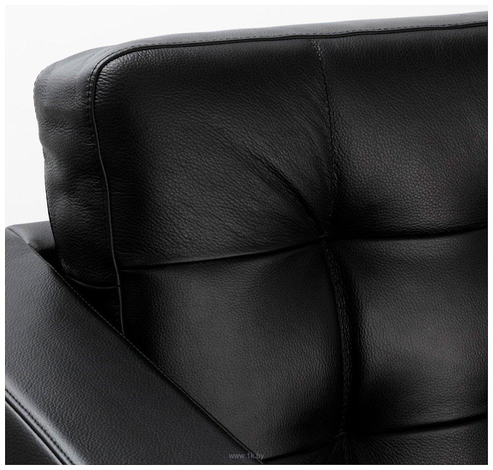 Фотографии Ikea Ландскруна 892.488.99 (бумстад черный/металл)