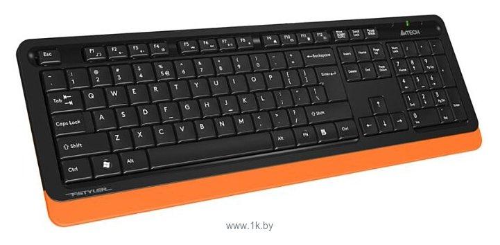 Фотографии A4Tech FG1010 Black-Orange USB