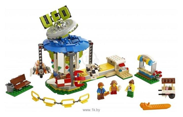 Фотографии LEGO Creator 31095 Ярмарочная карусель