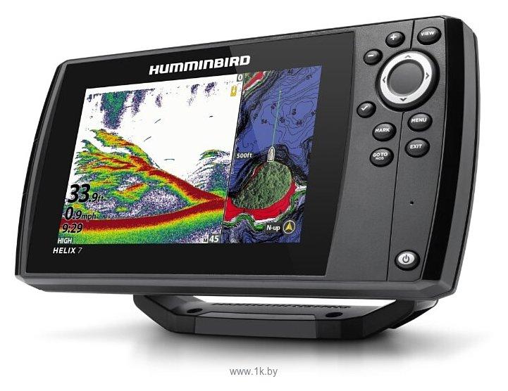 Фотографии Humminbird HELIX 7X CHIRP MEGA DI GPS G3N