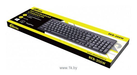 Фотографии Ritmix RKB-255W Black USB