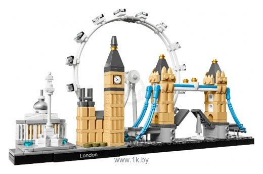 Фотографии LEGO Architecture 21034 Лондон