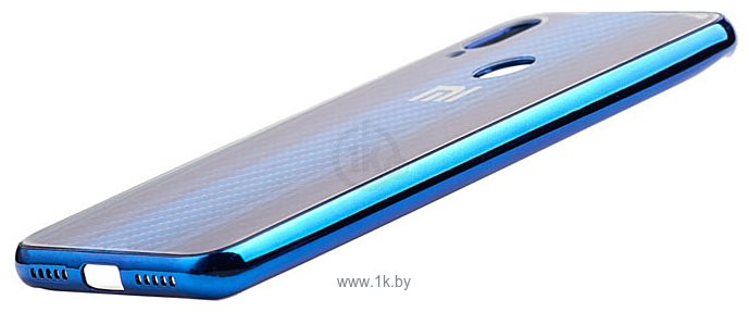 Фотографии EXPERTS Aurora Glass для Xiaomi Redmi Note 7 с LOGO (синий)
