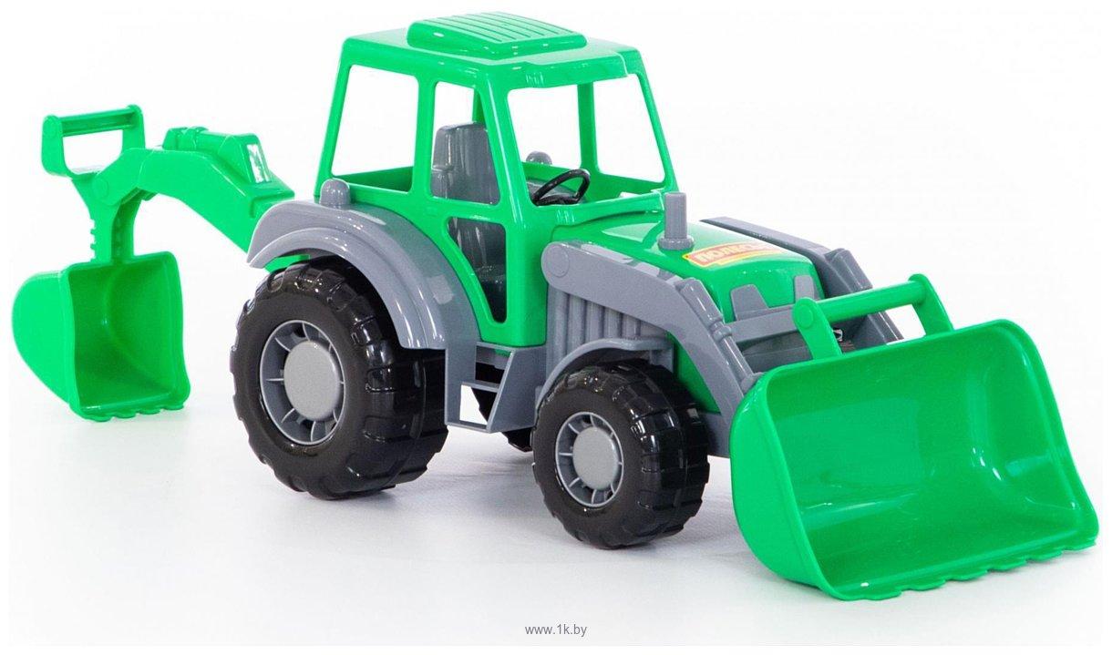 Фотографии Полесье Алтай трактор-экскаватор 35394