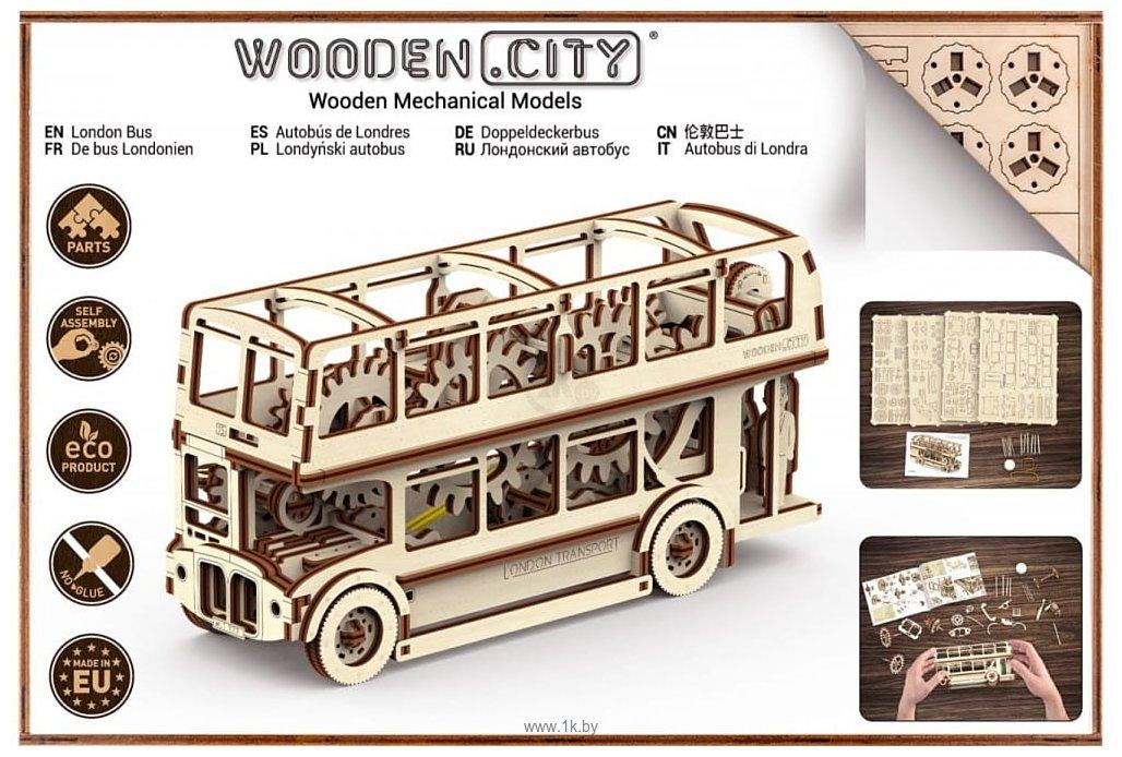 Фотографии Wooden City Лондонский автобус 303
