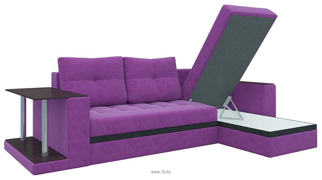 Фотографии Mebelico Атланта М (фиолетовый) (58793)