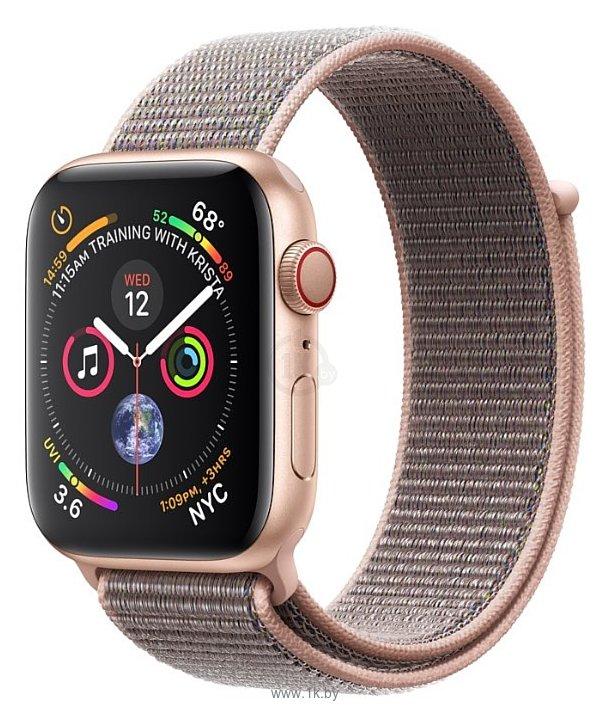 Фотографии Apple Watch Series 4 GPS + Cellular 40mm Aluminum Case with Sport Loop