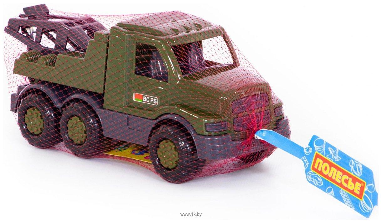 Фотографии Полесье Гоша автомобиль-эвакуатор военный РБ 49056