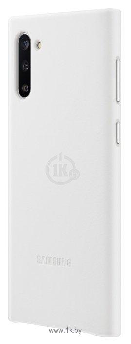 Фотографии Samsung Leather Cover для Samsung Note10 (белый)