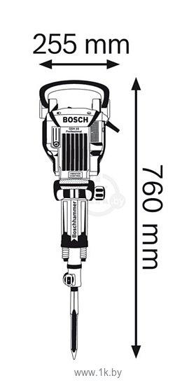 Фотографии Bosch GSH 16-30 (0611335100)