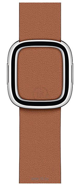 Фотографии Apple с современной пряжкой 40 мм (золотисто-коричн., размер S) MWRC2