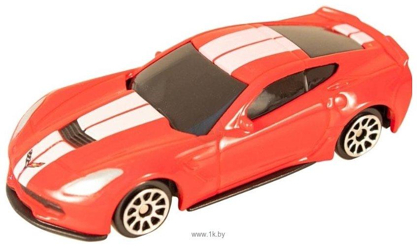 Фотографии Rmz City Chevrolet Corvette 344033SC (красный)