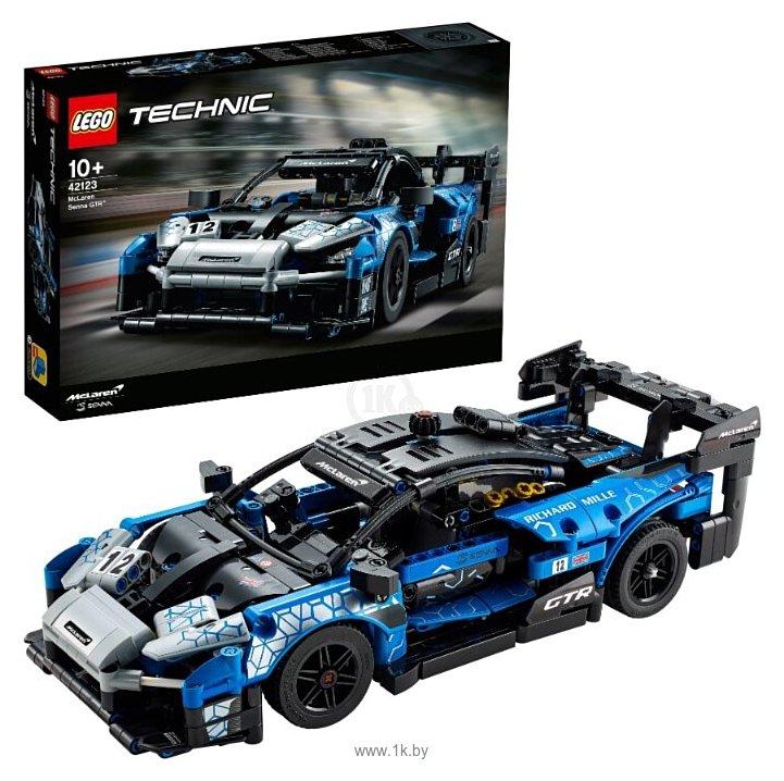 Фотографии LEGO Technic 42123 McLaren Senna GTR