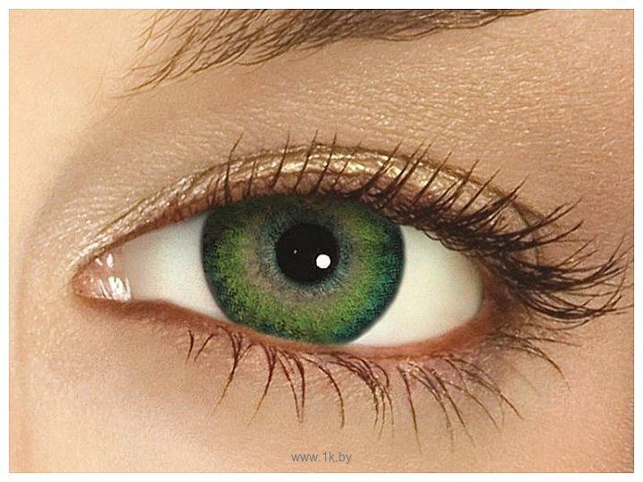 Фотографии Ciba Vision FreshLook Dimensions -2.5 дптр 8.6 mm (синий)