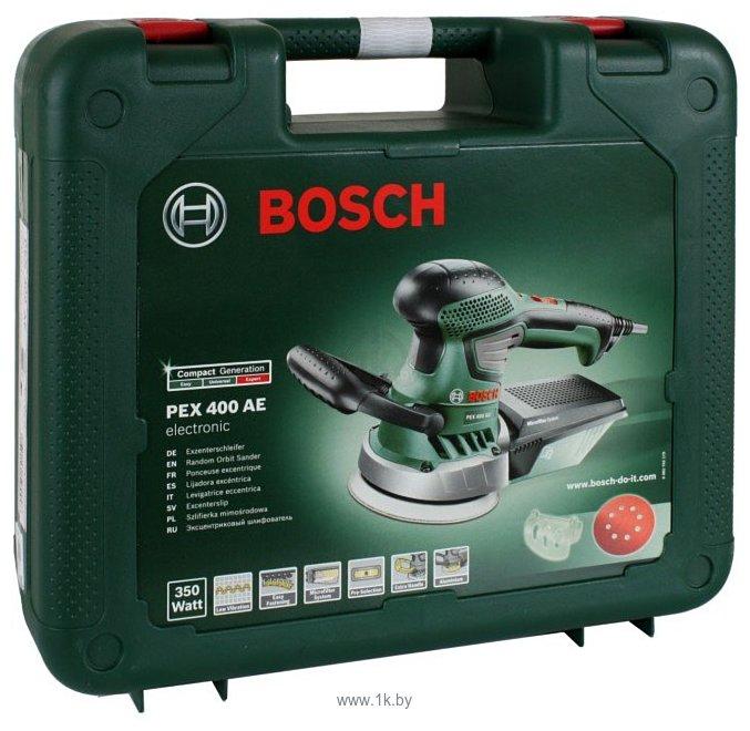 Фотографии Bosch PEX 400 AE (06033A4002)
