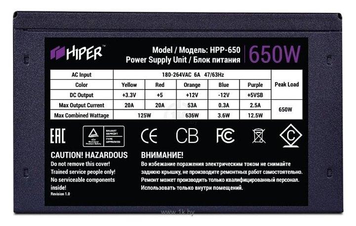 Фотографии HIPRO HPP-650W