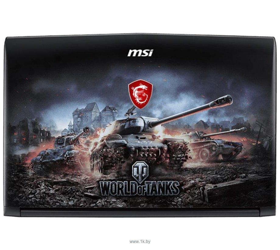 Фотографии MSI GP62 8RD-051RU World of Tanks Edition