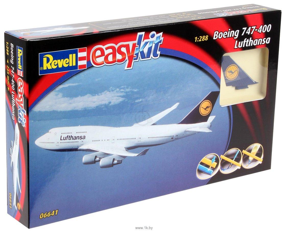 Фотографии Revell 06641 Пассажирский самолет Boeing 747 Lufthansa