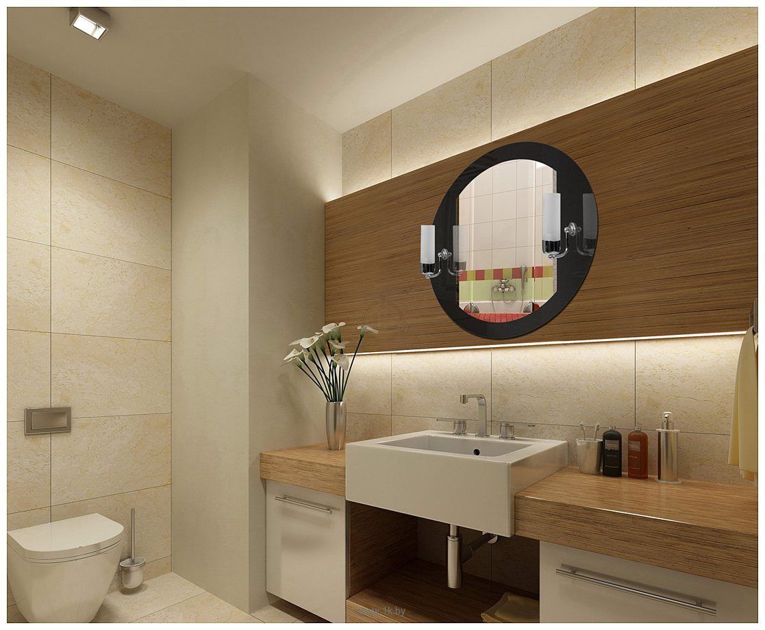 Фотографии Dubiel Vitrum Ada 70x70 зеркало (5905241015886)