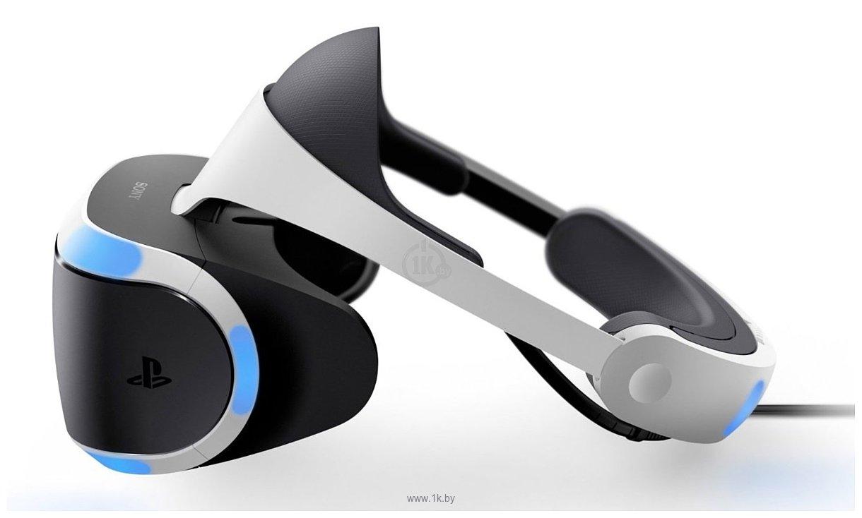 Фотографии Sony PlayStation VR v2 (с камерой и VR Worlds)