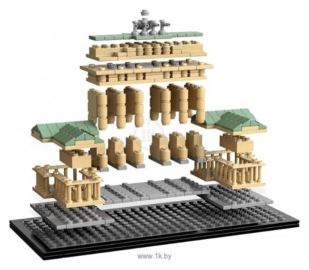 Фотографии LEGO Architecture 21011 Brandenburg Gate