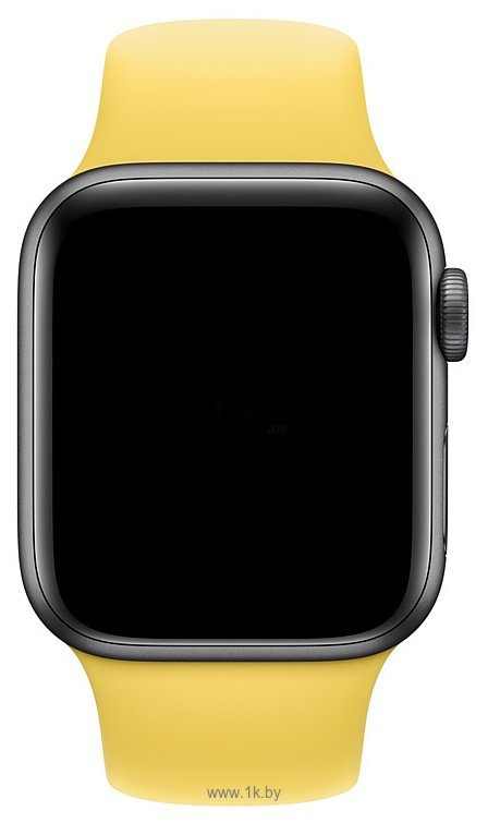 Фотографии Apple спортивный 40 мм (canary yellow, S/M и M/L) MV6A2