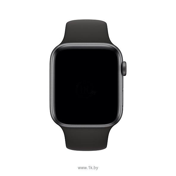 Фотографии Apple спортивный 44 мм (черный) MTPL2ZM